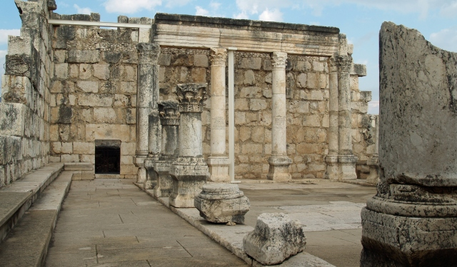 Fourth Century synagogue in Capernaum