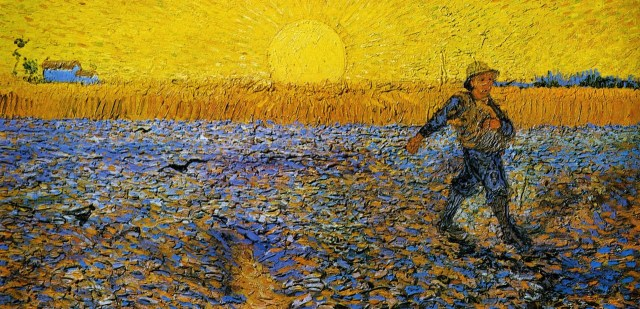 The Sower - Van Gogh cropped